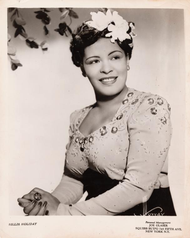 Billie Holiday Publicity Photo
