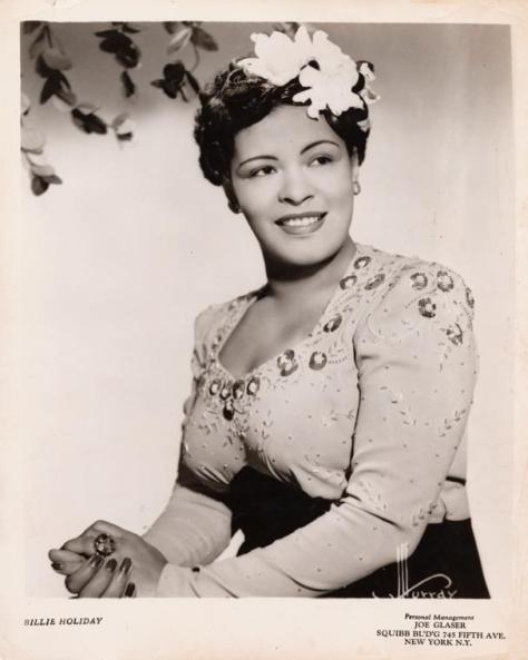 Billie Holiday Publicity Photo