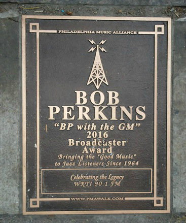 Bob Perkins Plaque - Feature