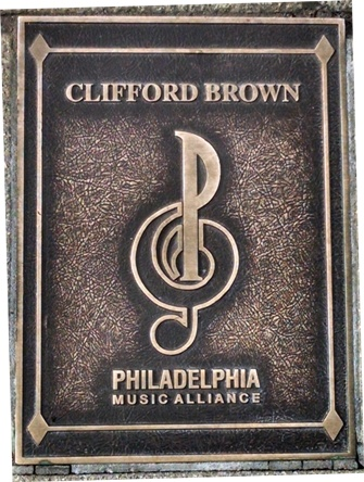 Clifford Brown Plaque