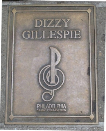 Dizzy Gillespie Plaque