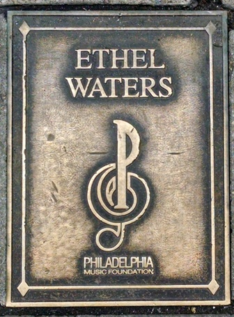 Ethel Waters Plaque