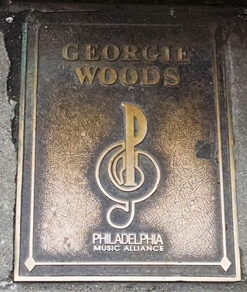 Georgie Woods Plaque