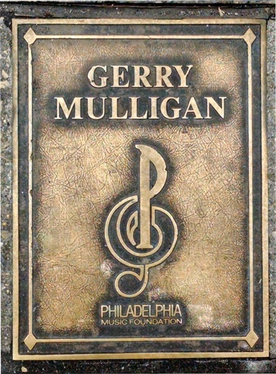 Gerry Mulligan Plaque