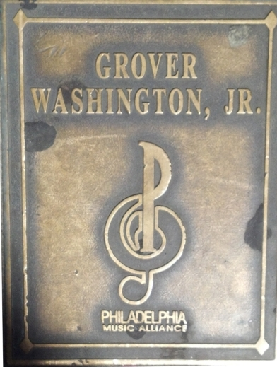 Grover Washington Jr. Plaque