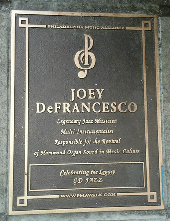 Joey D Plaque