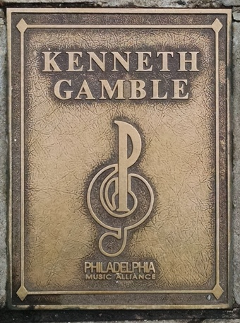Kenneth Gamble Plaque