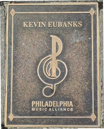 Kevin Eubanks Plaque