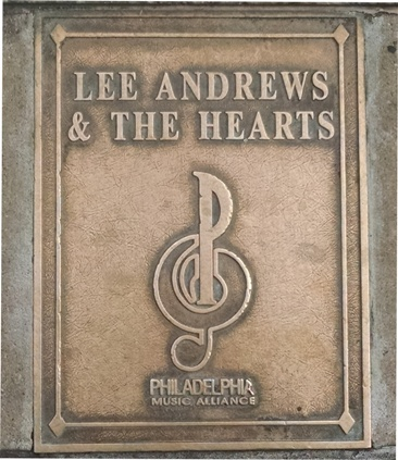 Lee Andrews Plaque