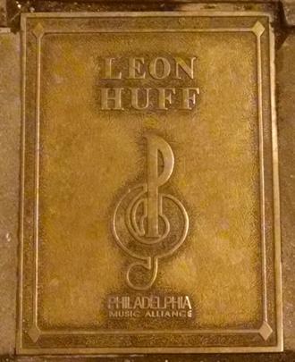 Leon Huff Plaque