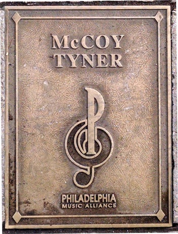 McCoy Tyner Plaque