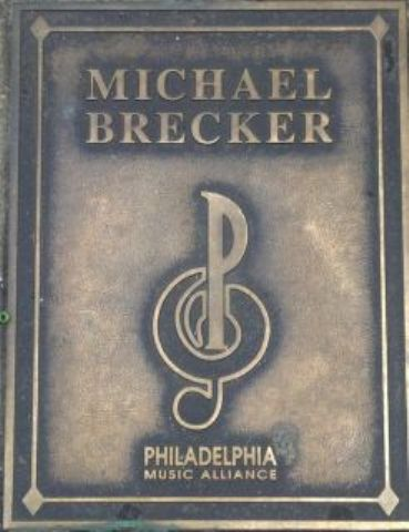 Michael Brecker Plaque