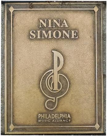 Nina Simone Plaque
