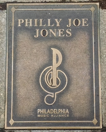 Philly Joe Jones Plaque