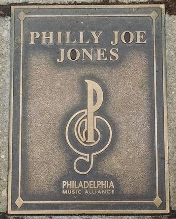 Philly Joe Jones Plaque