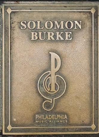 Solomon Burke Plaque