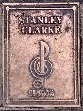 Stanley Clarke Plaque