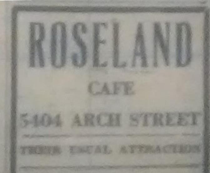 Roseland Cafe