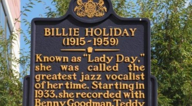 Billie Holiday Historical Marker