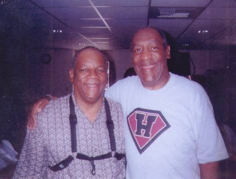 Bootsie Barnes and Bill Cosby