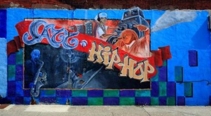 Jazz to Hip-hop Mural