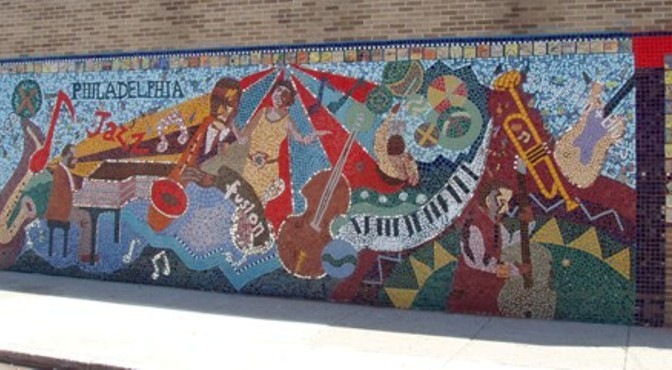 Philadelphia Jazz History Mosaic