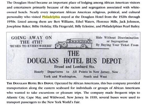 Douglass Hotel Guests