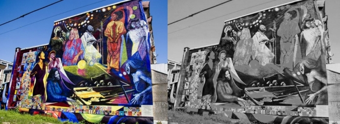 Women of Jazz Mural Collage - 4.5.15