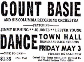 Town Hall - Count Basie - 7.5.15