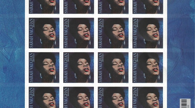 Sarah Vaughan Forever Stamp Will Be Issued in 2016