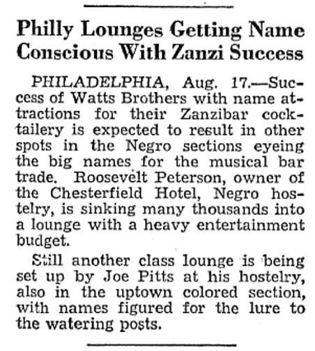 Joe Pitts' Musical Bar