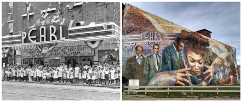 Pearl Theater Collage