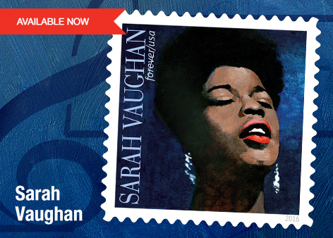 U.S. Postal Service Tribute to Sarah Vaughan
