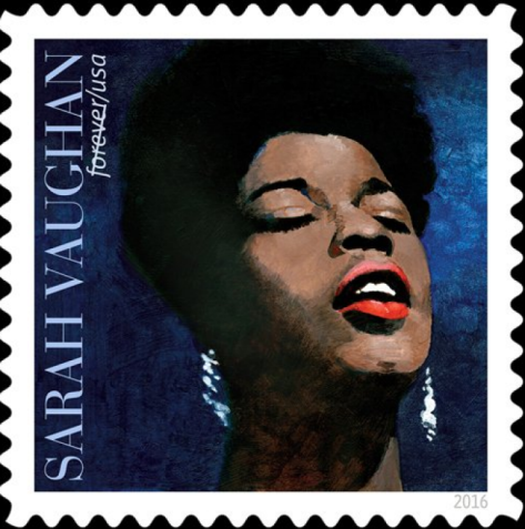Sarah Vaughan Stamp