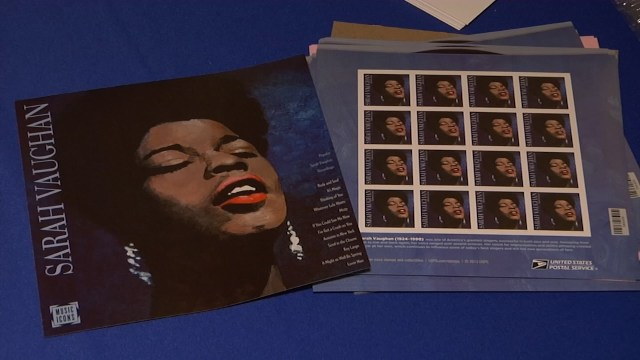 U.S. Postal Service Tribute to Sarah Vaughan