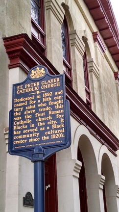 St. Peter Claver Church Historical Marker