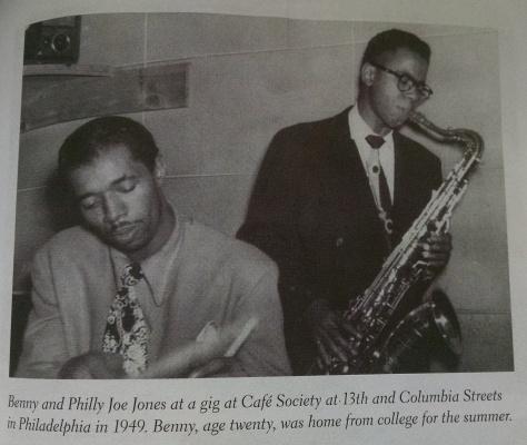 Cafe Society - Philly Joe Jones - Benny Golson - Caption