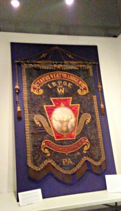 O.V. Catto Elks Lodge Banner
