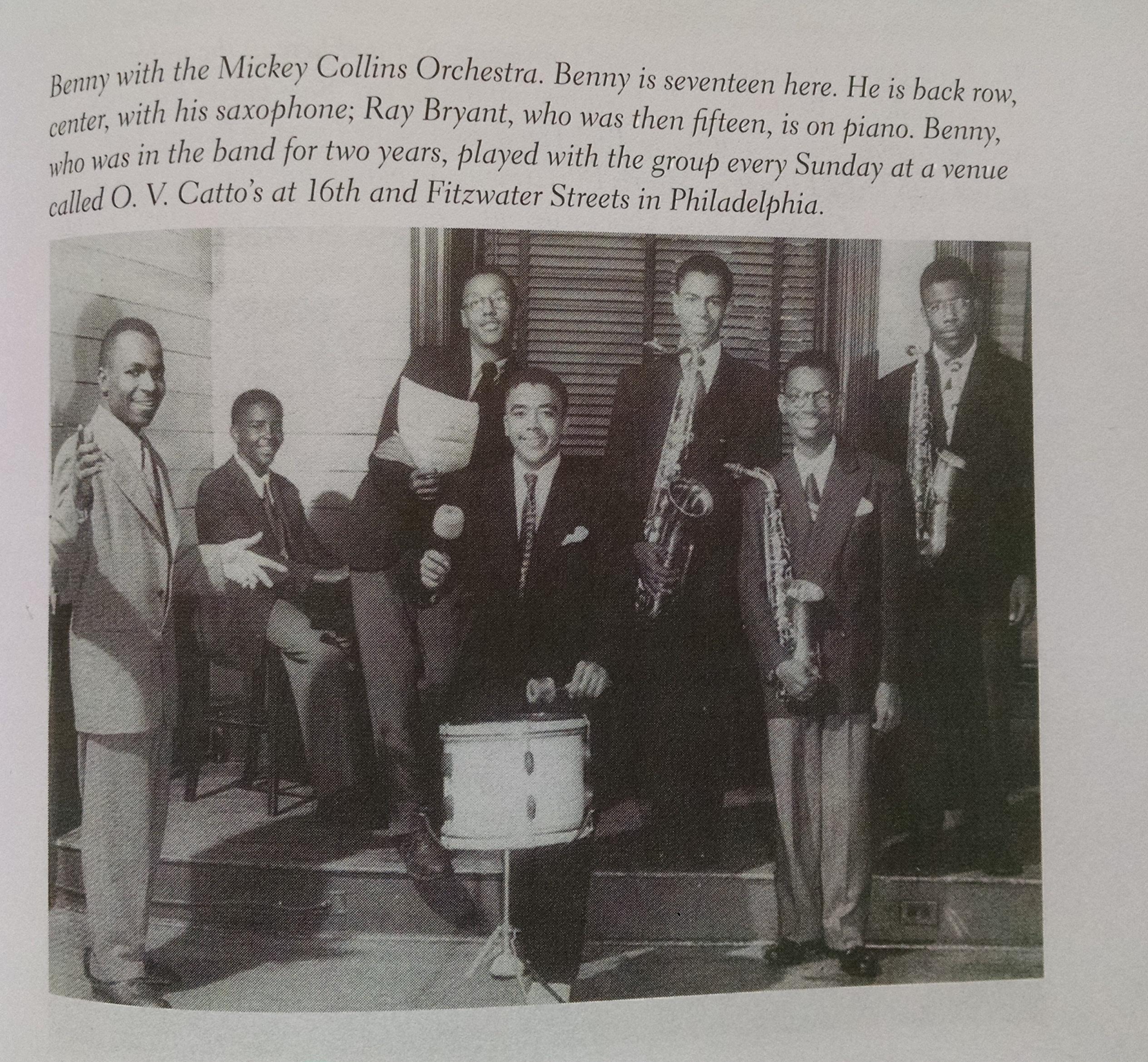 O.V. Catto Lodge - Benny Golson
