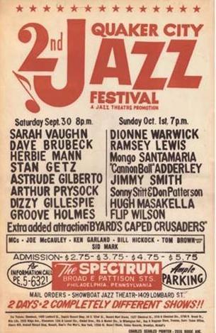 2nd Quaker City Jazz Festival