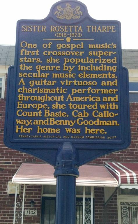 Sister Rosetta Tharpe Historical Marker
