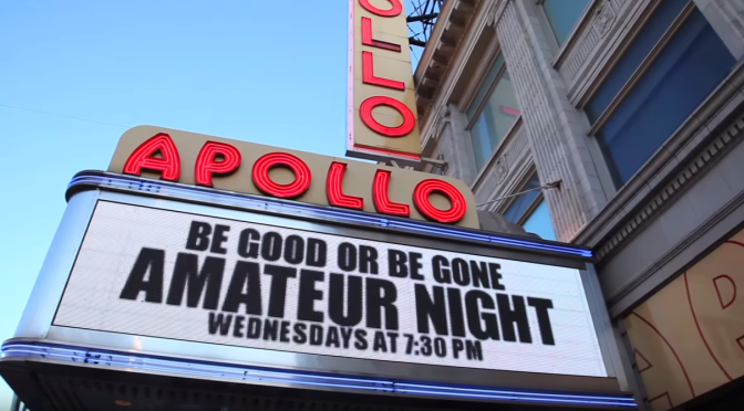 Jazz Night Auditions at the Apollo Theater
