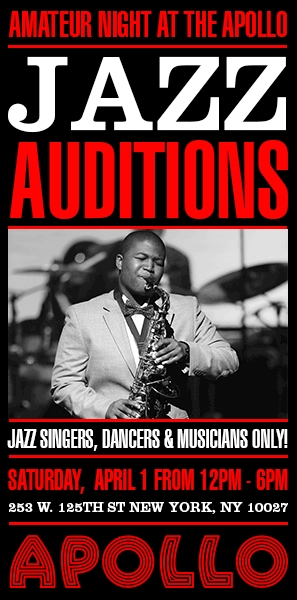 Jazz Auditions - Apollo Theater