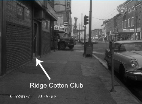 Ridge Cotton Club - Overlay