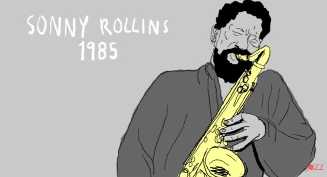 Sonny Rollins on Monk and the Bridge