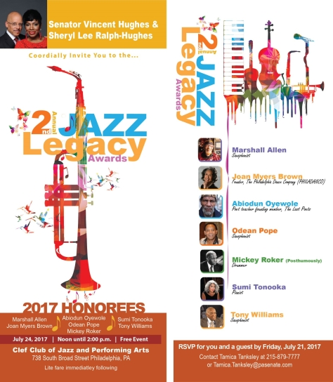 2nd Jazz Legacy Award