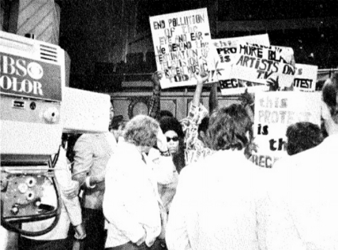 #TBT - Jazz and People's Movement Protest - August 1970