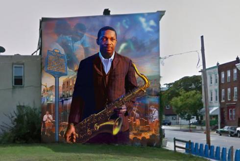 John Coltrane Mural