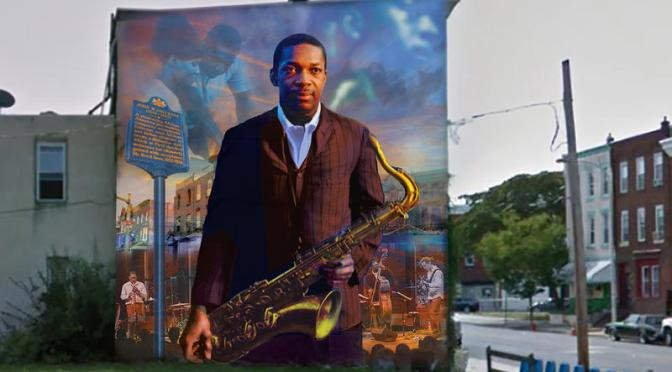 John Coltrane Mural Dedication
