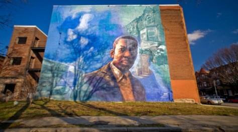 Tribute to John Coltrane Mural